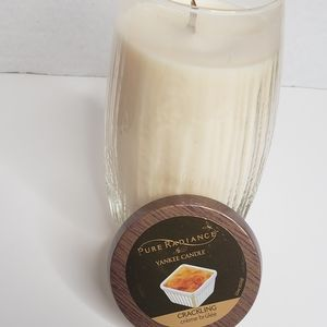 YANKEE CANDLE PURE RADIANCE CREME BRULEE